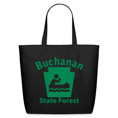 Buchanan State Forest Keystone Boat - Eco-Friendly Cotton Tote