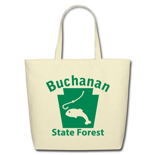 Buchanan State Forest Keystone Fish - Eco-Friendly Cotton Tote