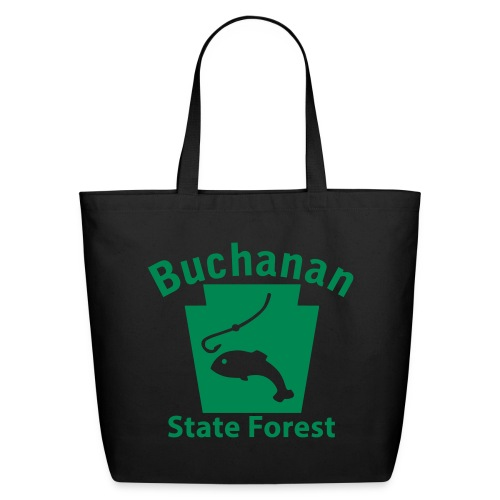 Buchanan State Forest Keystone Fish - Eco-Friendly Cotton Tote