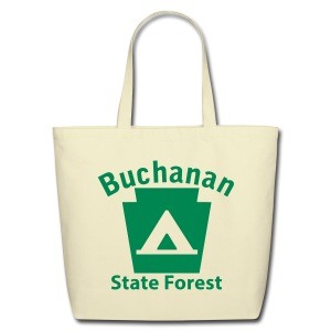 Buchanan State Forest Keystone Camp - Eco-Friendly Cotton Tote