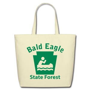 Bald Eagle State Forest Keystone Boat - Eco-Friendly Cotton Tote