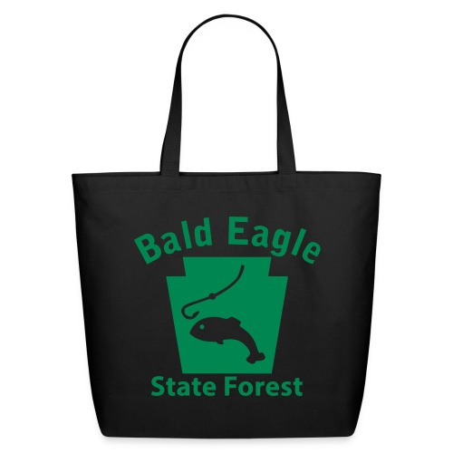 Bald Eagle State Forest Keystone Fish - Eco-Friendly Cotton Tote