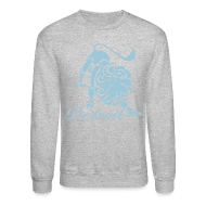 Long Sleeve Shirts ~ Crewneck Sweatshirt ~ Lions Vintage Men's Crewneck Sweatshirt
