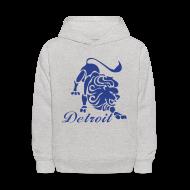 Sweatshirts ~ Kids' Hoodie ~ Lions Vintage Kid's Hooded Sweatshirt