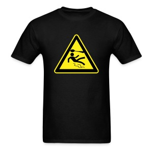 Warning Sign - Men's - Men's T-Shirt