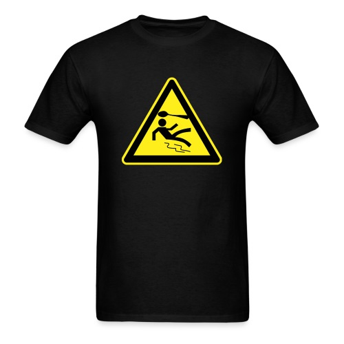 Warning Sign - Men's - Men's T-Shirt
