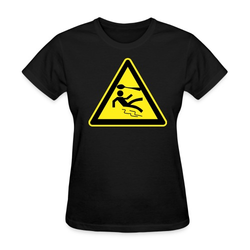 Warning Sign - Women's - Women's T-Shirt