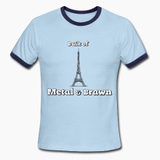 Anchorman - Eiffel Tower - Metal & Brawn