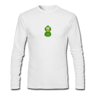 Long Sleeve Shirts ~ Men's Long Sleeve T-Shirt by American Apparel ~ Long Sleeve Green