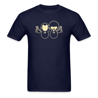 Pulp Fiction Vince & Jules Cartoons T-Shirts