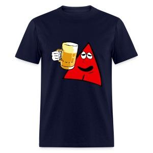 Sneables Men's beer drinking t-shirt - Men's T-Shirt
