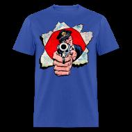 T-Shirts ~ Men's T-Shirt ~ Cop With Gun