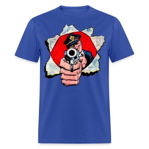 Cop With Gun - Men's T-Shirt