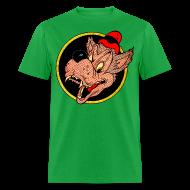 T-Shirts ~ Men's T-Shirt ~ Leering Wolf