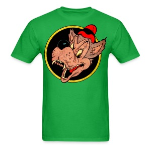 Leering Wolf - Men's T-Shirt