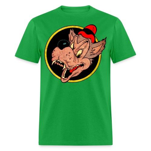 Leering Wolf - Men's T-Shirt