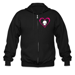 TRAGEDY LOVE N' LOSS MEN'S HOODY - Men's Zip Hoodie