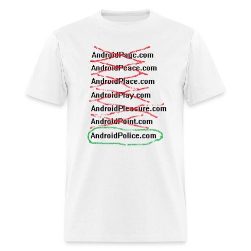 NAFality - Men's T-Shirt