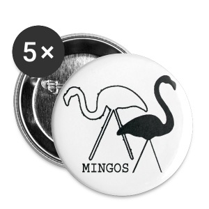 Mingo on a Pin - Small Buttons