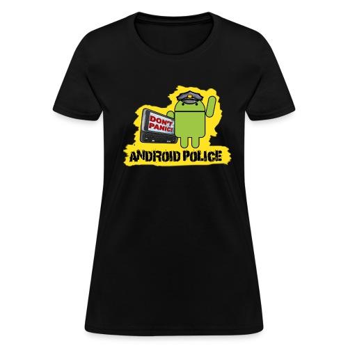 Debeloid - Front & Back - Women's T-Shirt