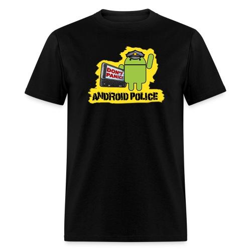Debeloid - Front & Back - Men's T-Shirt