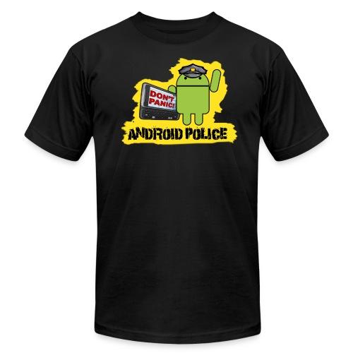 Debeloid - Front & Back - Men's Fine Jersey T-Shirt