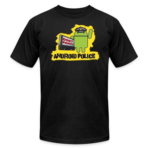 Debeloid - Front & Back - Men's  Jersey T-Shirt