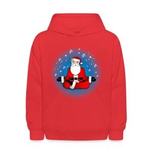 Santa's Meditation - Kids' Hoodie