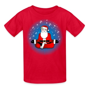 Santa's Meditation - Kids' T-Shirt