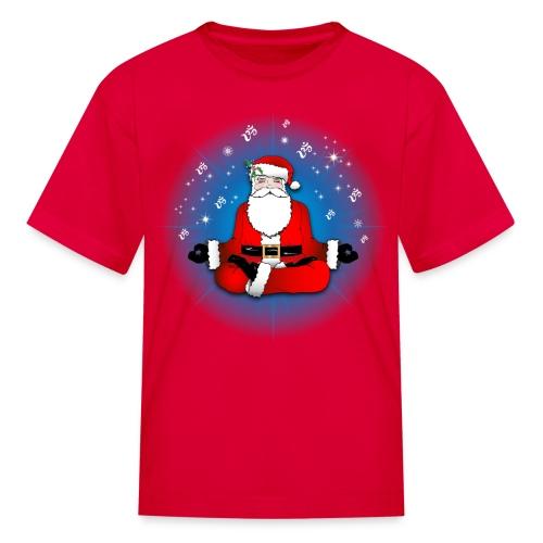 Santa's Meditation - Kids' T-Shirt