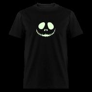 T-Shirts ~ Men's T-Shirt ~ JACK's NIGHTMARE Glow in the Dark T-Shirt