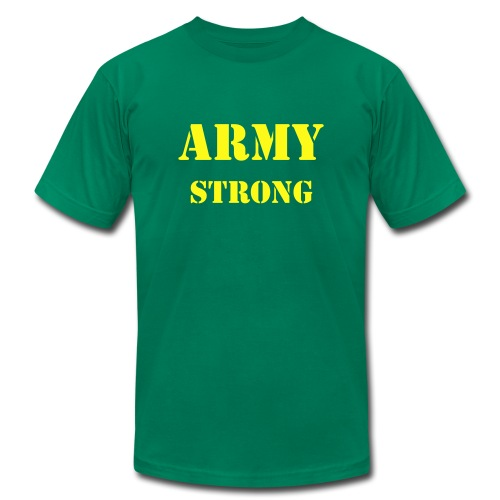 ARMY Strong - Men's Fine Jersey T-Shirt