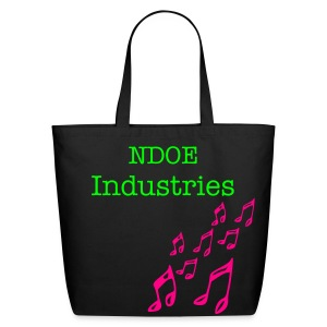 NDOE eco-friendly tote black - Eco-Friendly Cotton Tote