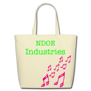 NDOE eco-friendly tote cream - Eco-Friendly Cotton Tote