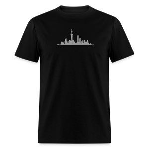 Shanghai Skyline (Mens) - Men's T-Shirt