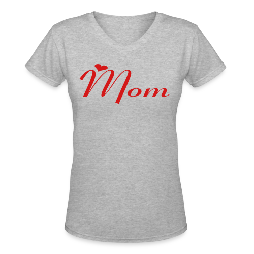 Mom - Women's V-Neck T-Shirt