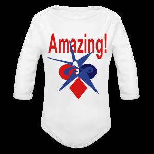 Amazing - Long Sleeve Baby Bodysuit