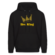 Hoodies ~ Men's Hoodie ~ Bro King Sweatshirt