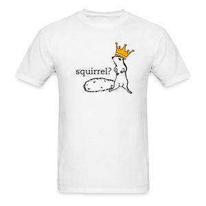 Squirrel King Men's Standard Weight T-Shirt - Men's T-Shirt
