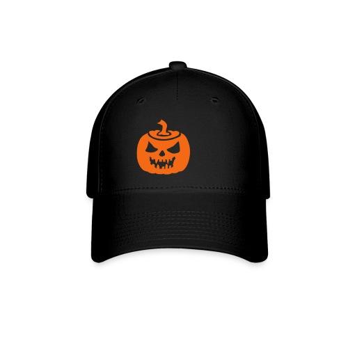 Jack-O-Lantern Black Hat - Baseball Cap