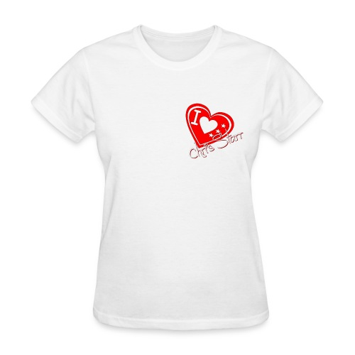 I Love Chris Starr - Women's T-Shirt