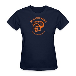 Be a Tidy Kiwi - Women's T-Shirt