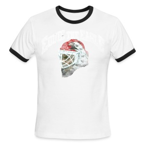 Chicago Eddie Eagle Men's Lightweight Ringer Tee - Men's Ringer T-Shirt
