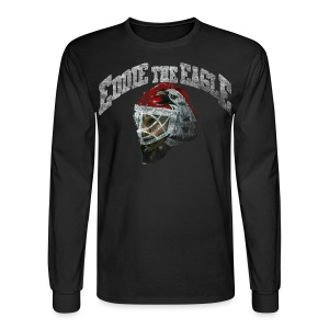 Chicago Eddie Eagle Men's Long Sleeve Tee - Men's Long Sleeve T-Shirt
