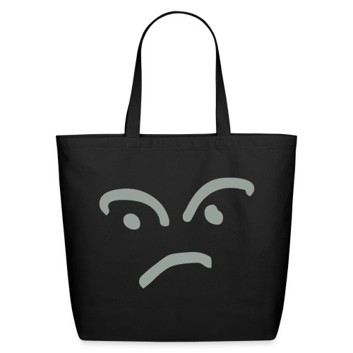 Confused Face - Eco-Friendly Cotton Tote