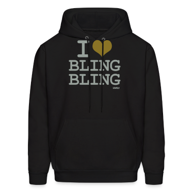 i love bling bling by wam Hoodies