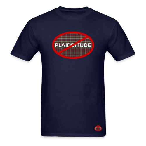 Plaidditude for Guys - Men's T-Shirt