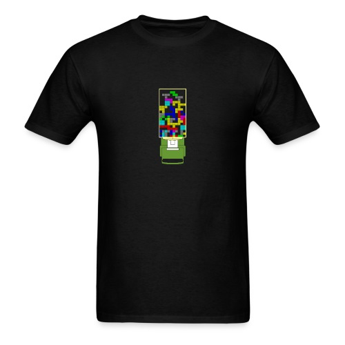 Tetris-front - Men's T-Shirt