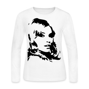 I'm Just as Beautiful as this Model - Women's Long Sleeve Jersey T-Shirt