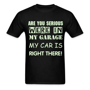 GARAGE - Men's(GLOW in Dark) - Men's T-Shirt
